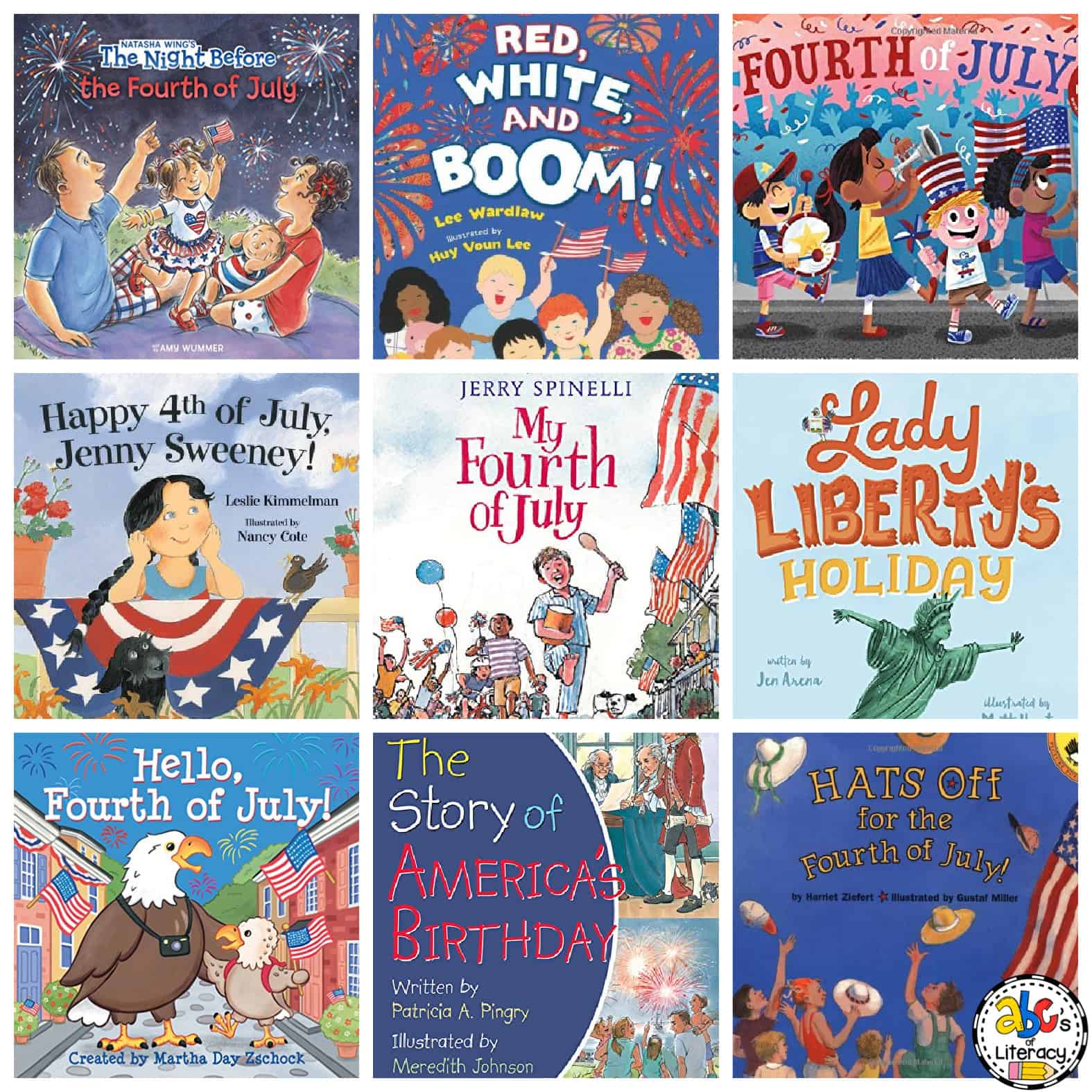 Independence Day Books for Kids