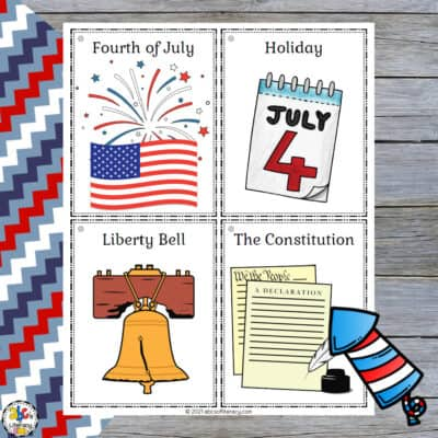 4th of July Vocabulary Activities