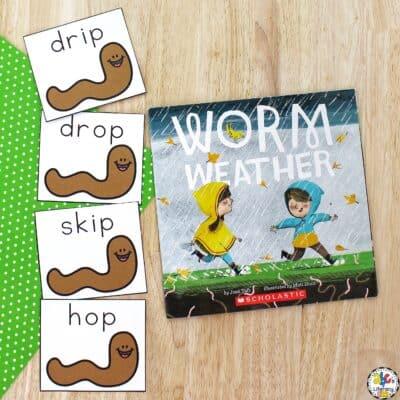 Worm Weather Book Activities