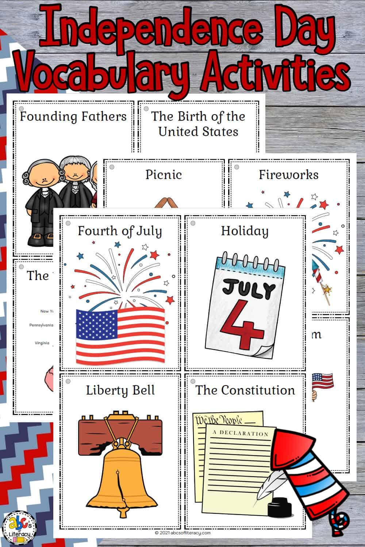4th of July Vocab