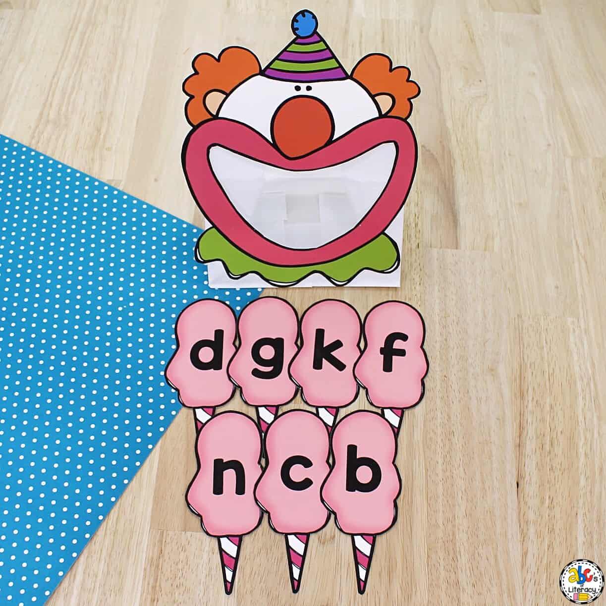 Clown Activity for Preschoolers