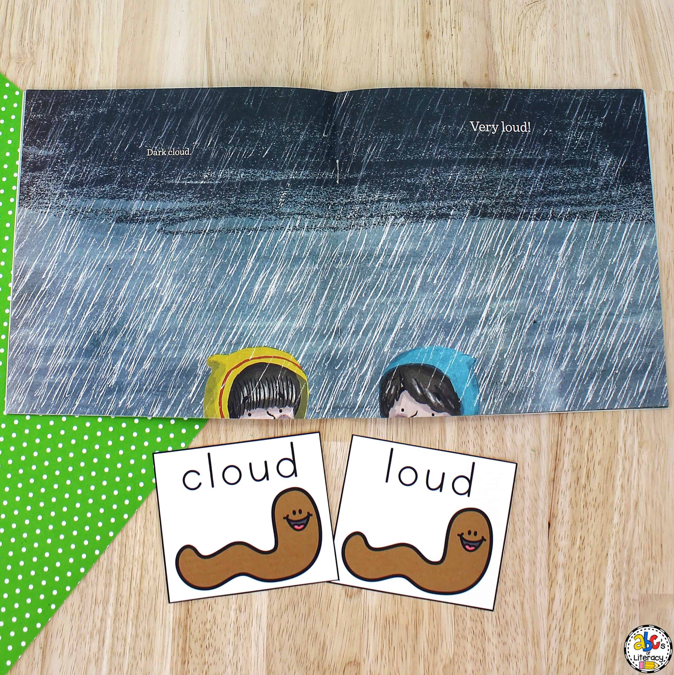 Rhyming Activity for Kids