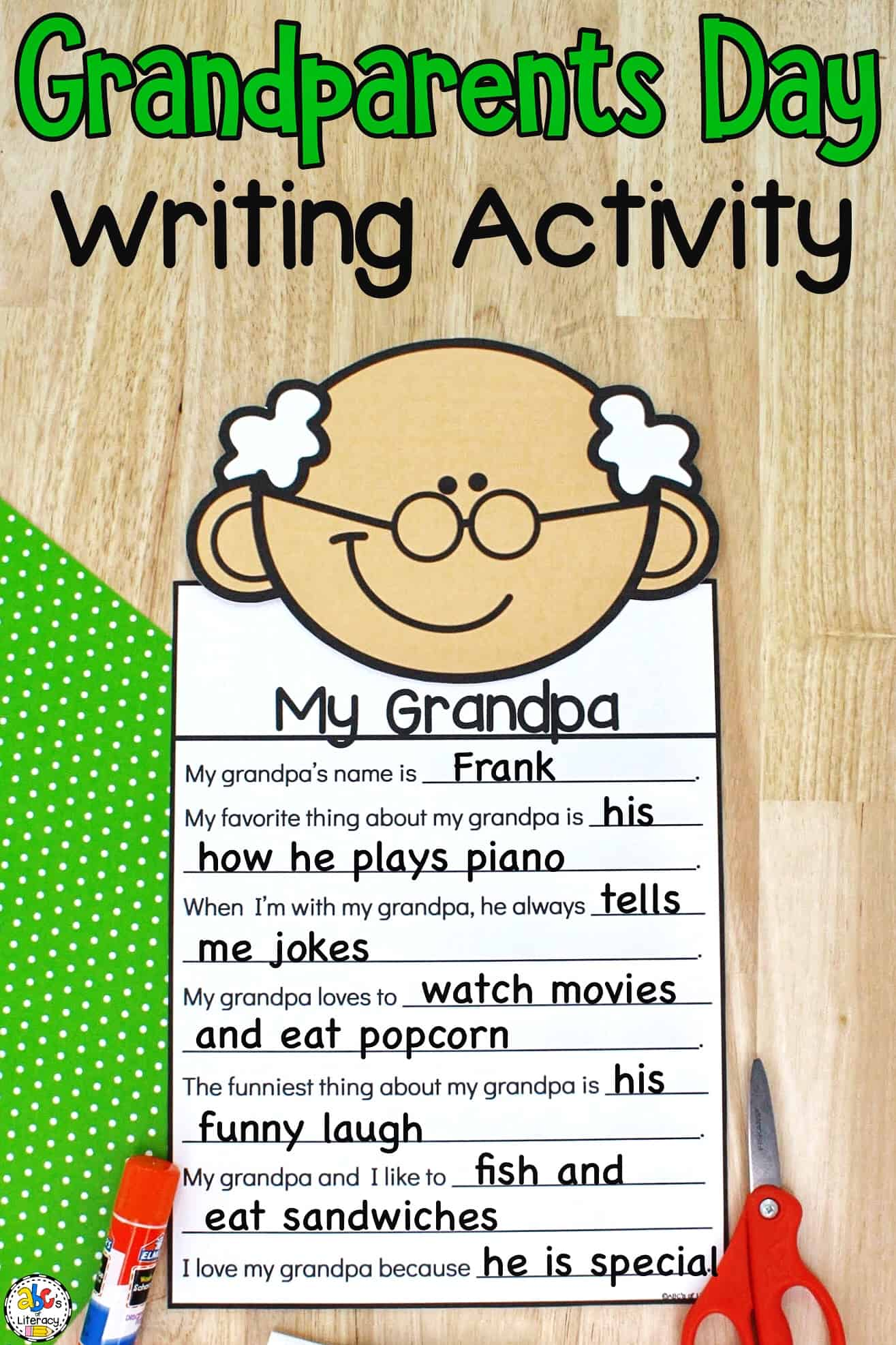 Writing Activity for Kids