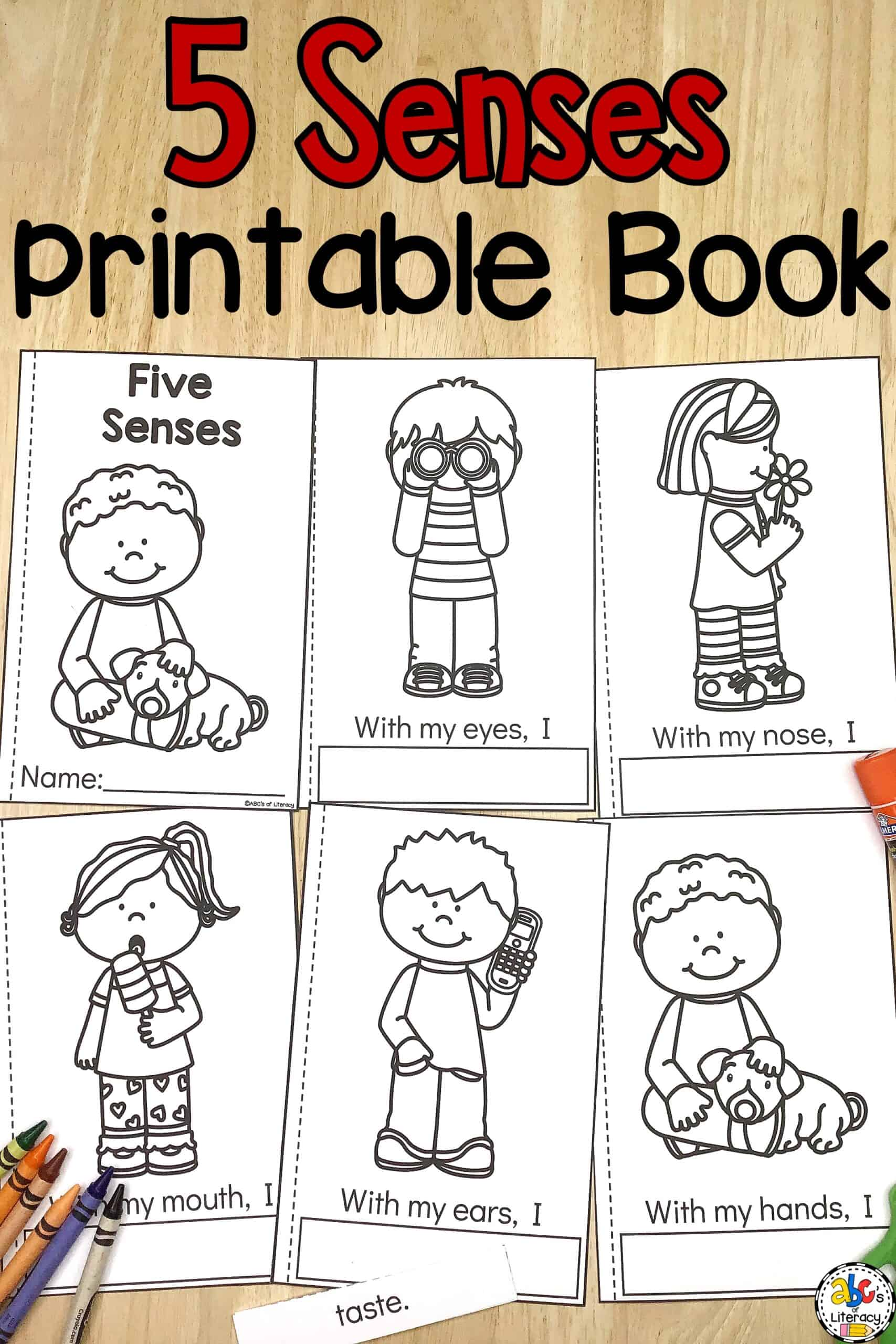 Cut and Paste Printable Book