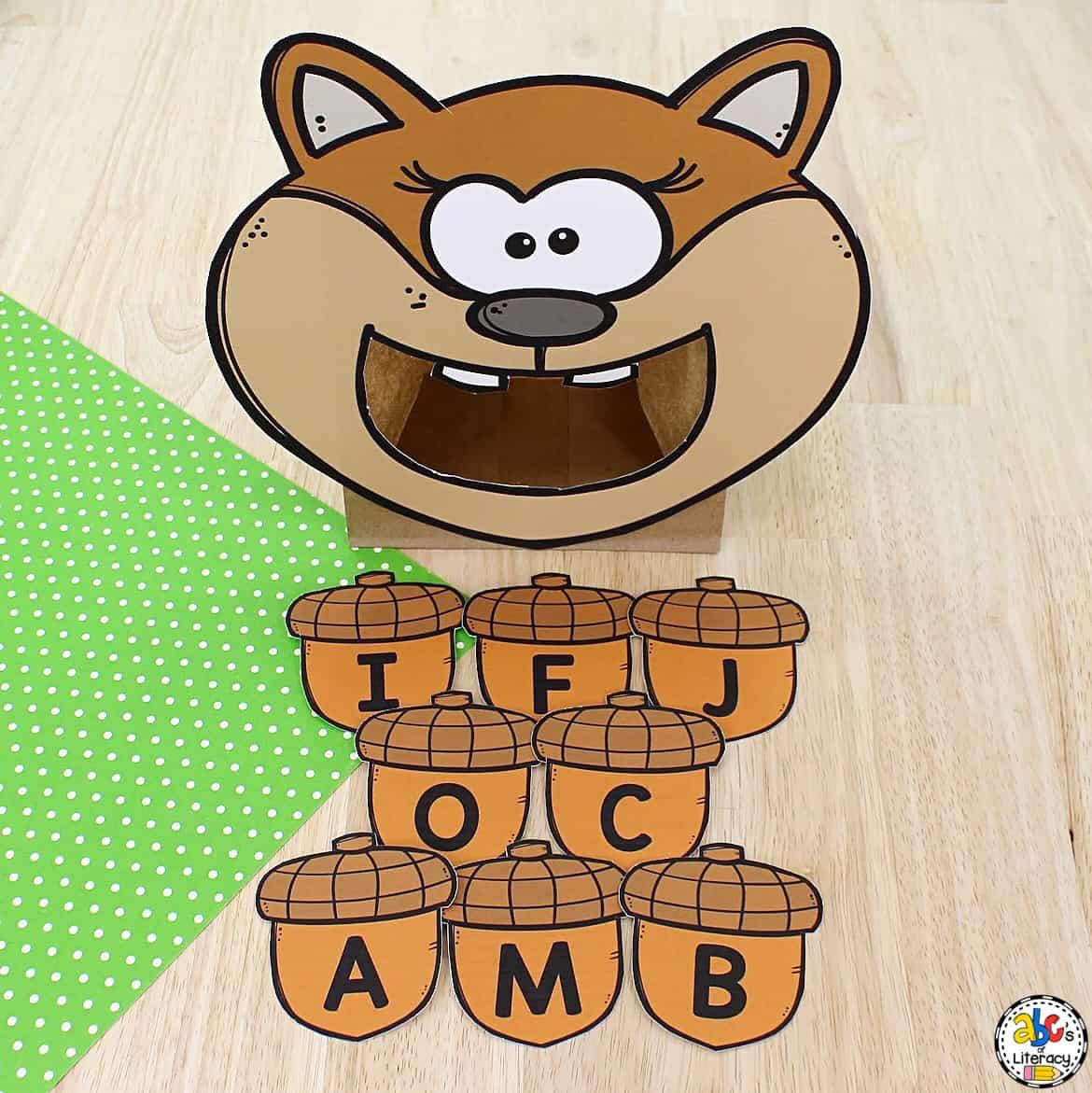 Letter Activity for Preschoolers