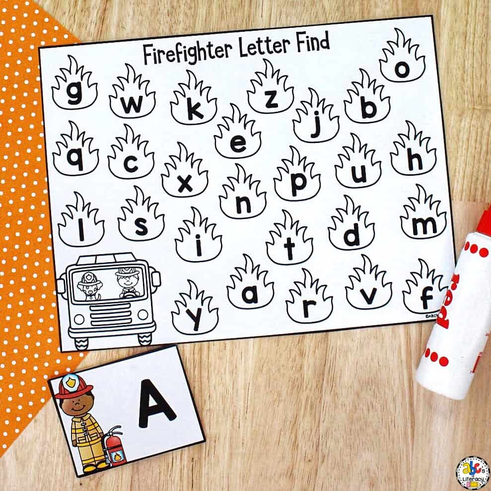 Letter Knowledge Activity