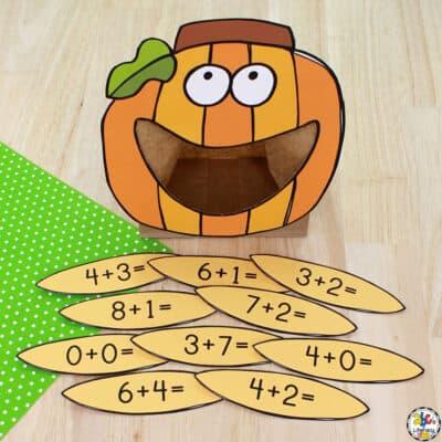 Pumpkin Seed Addition Activity