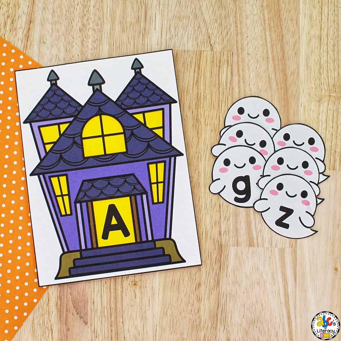 Halloween Letter Match
