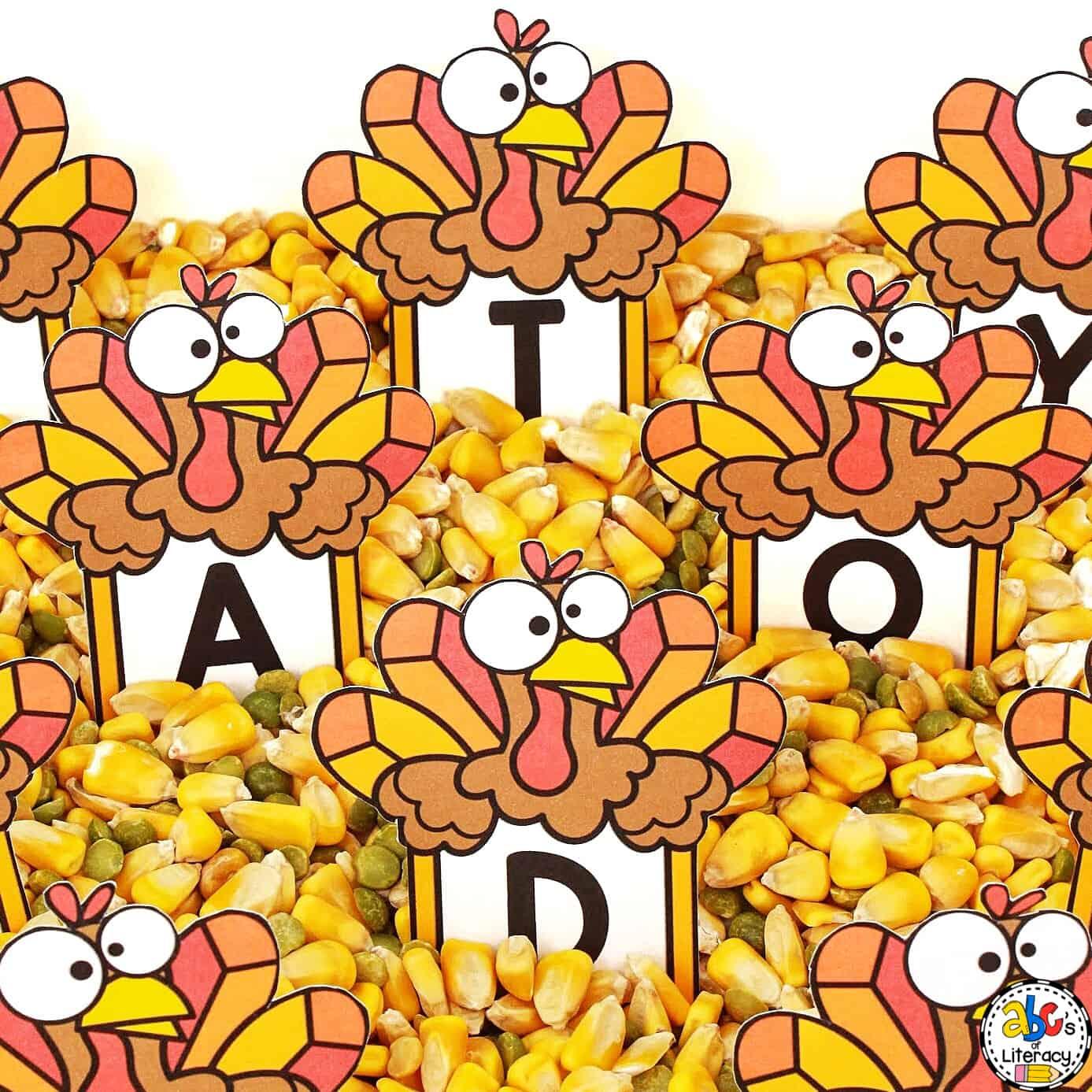 Thanksgiving Sensory Activity