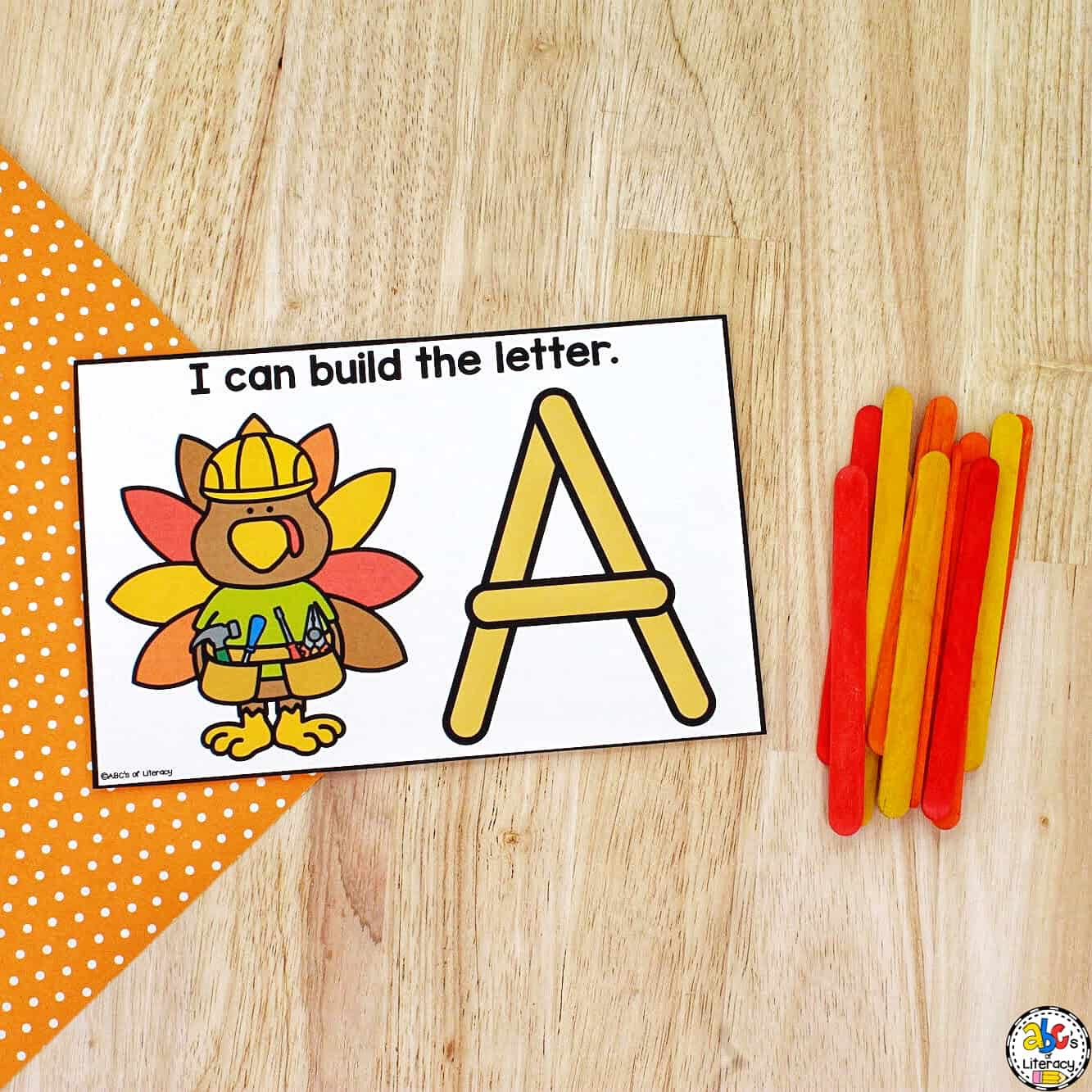Thanksgiving Alphabet Activity