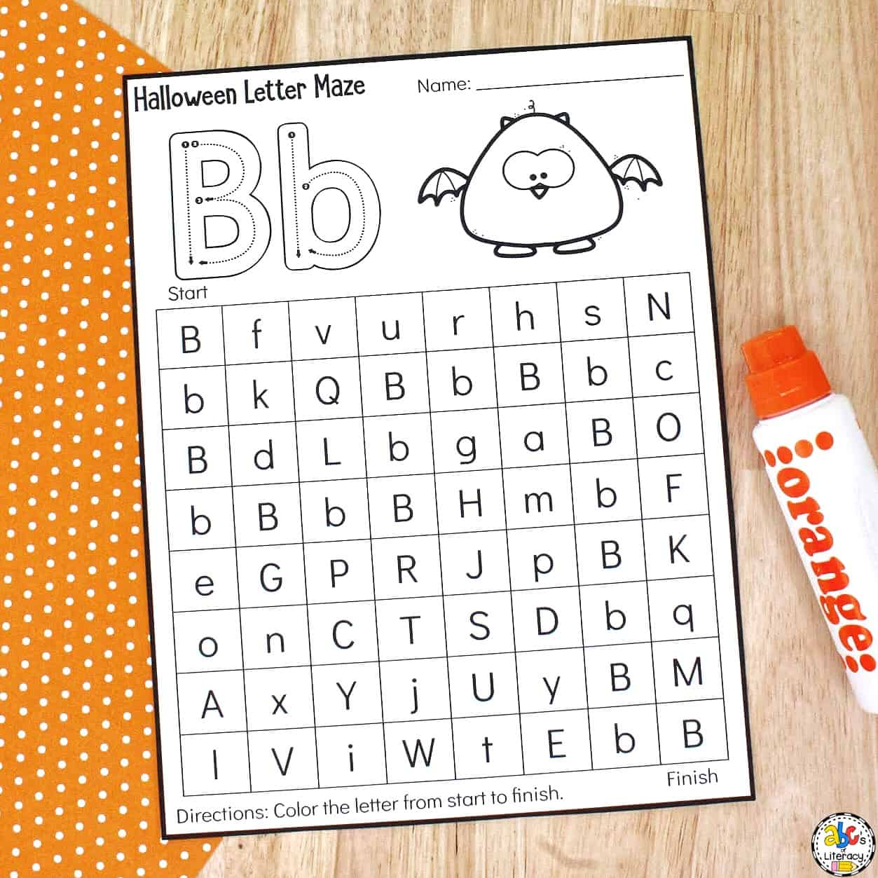 Halloween Worksheets for Preschool