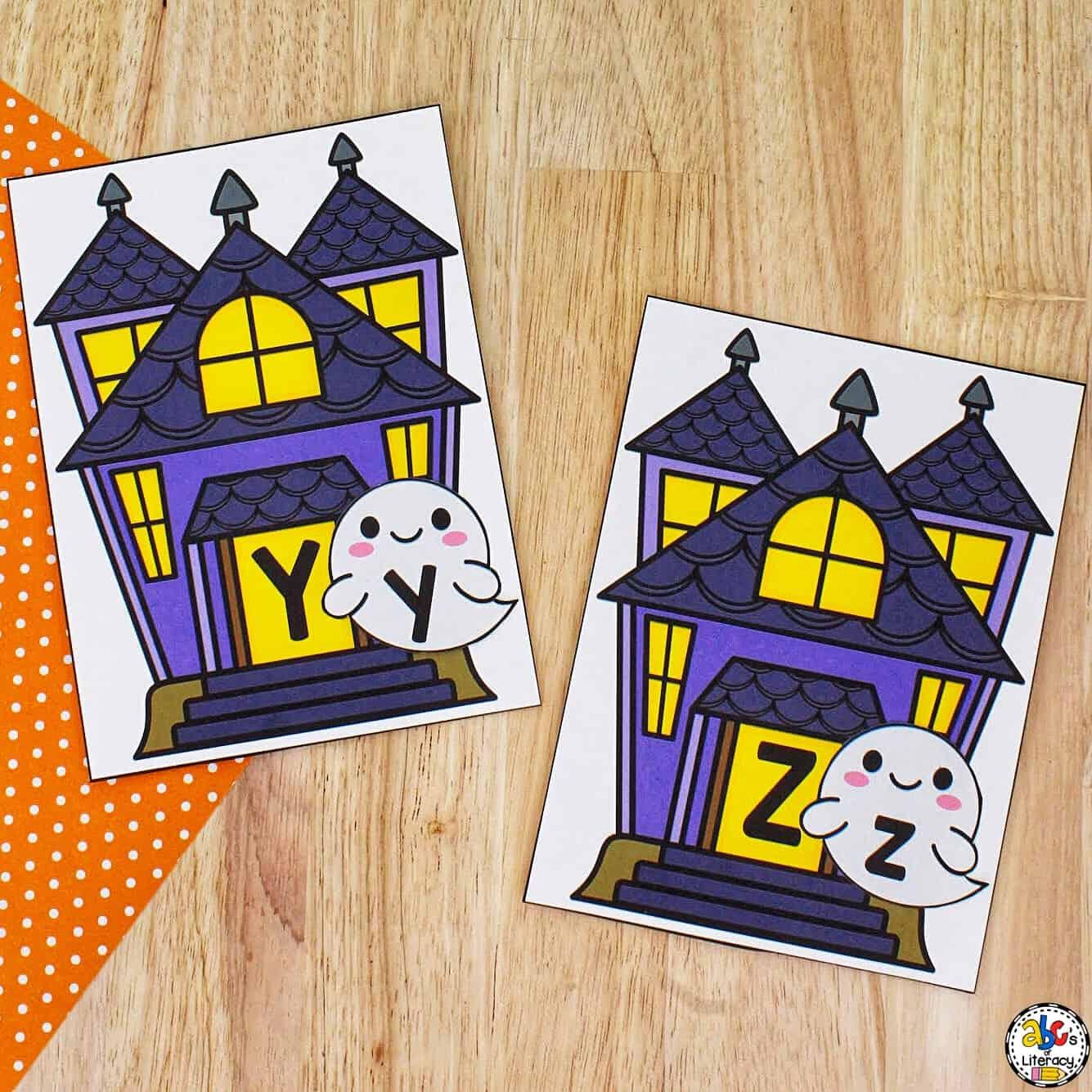 Halloween Letter Match Activity