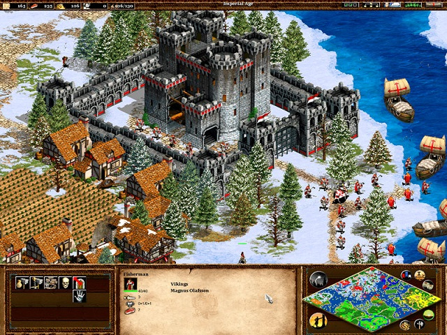 game chiến thuật Age of Empires II