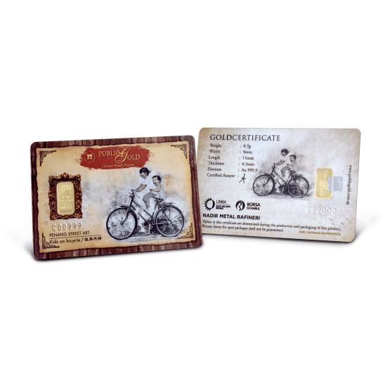Emas 0.5 gram Bicycle