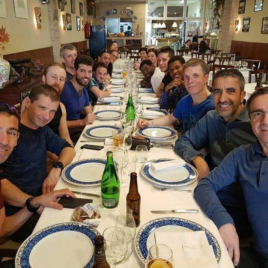 Notre petit groupe parti à Valence - from Instagram