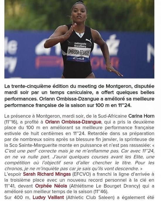 Oprhee et Abdo dans le journalhttps://www.athle.fr/asp.net/main.news/news.aspx?newsid=16286 - from Instagram