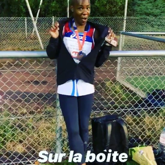 Félicitations à notre championne qui réussit un objectif troisième du 100 m femme @neola_orphee #congratulations #performance #100m #trackandfield #lebourget #drancy #dugny - from Instagram