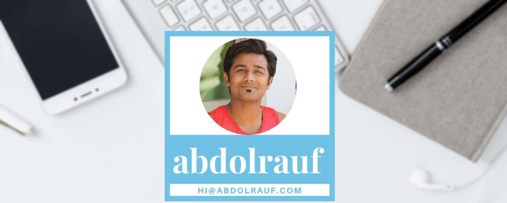 About Abdol Rauf