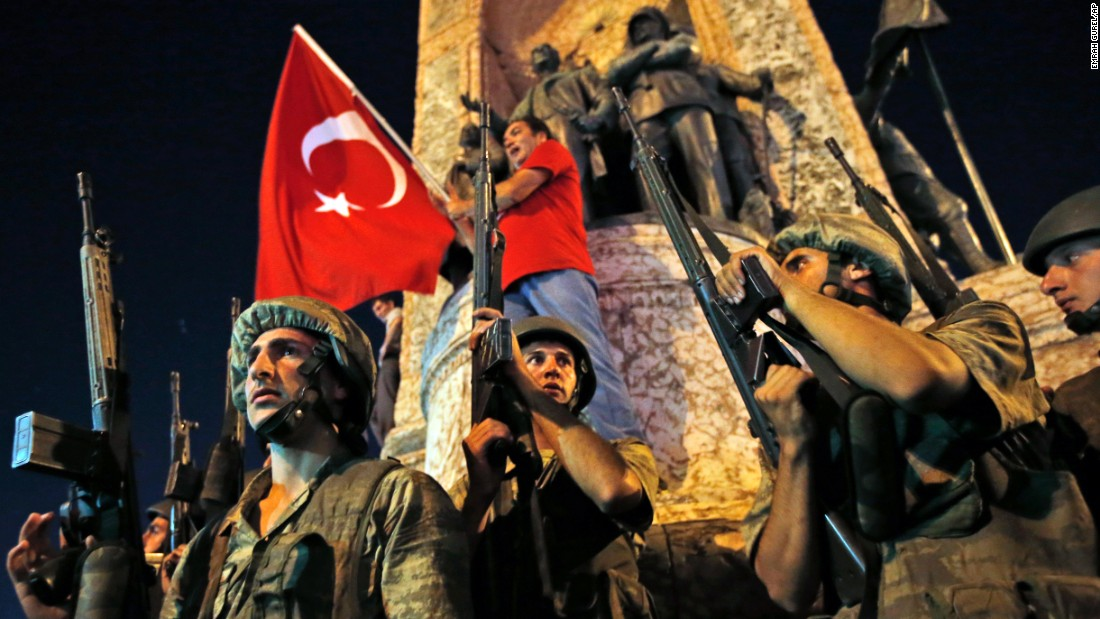 Coup in Turkey: Secularists vs Elections