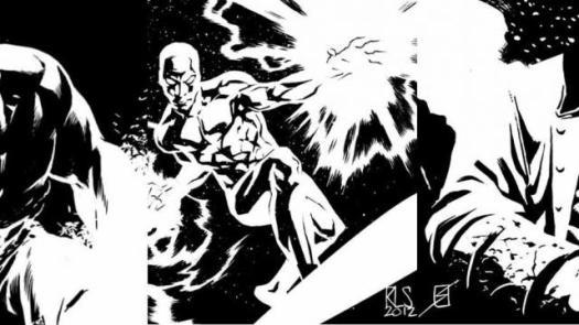 Comic Book Artist: Ron Salas