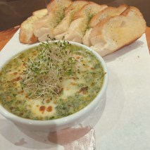 Cheese and Spinach dip