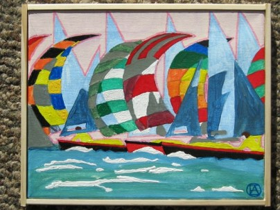 Spinnakers painting (3)