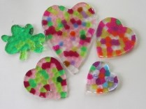 HEART SUNCATCHERS