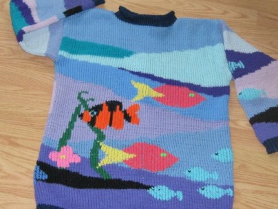 FAMOUS FISH SWEATER