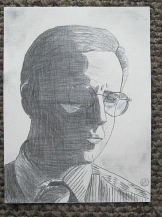 Mike Tuggle Pencil Sketch (3)