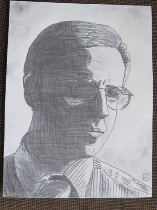 Mike Tuggle Pencil Sketch (4)