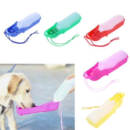 Portable Dog Water Bowl & Travel Water Bottle for Dogs