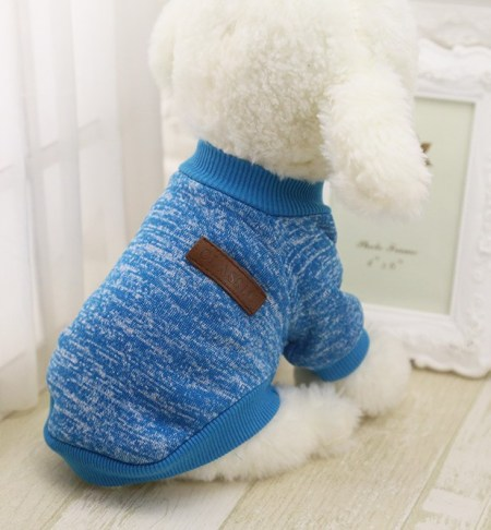 Warm Cotton Melange Dog Clothes