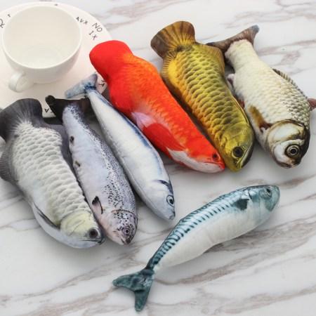 Stuffed Fish Cat Toy
