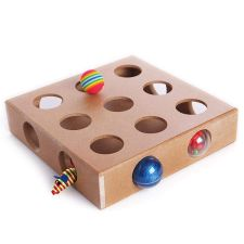 Interactive Cat Toy Puzzle Box