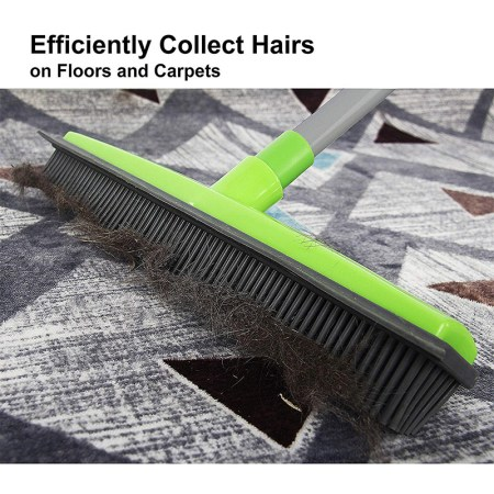 Rubber Broom for Removing Pet Hair