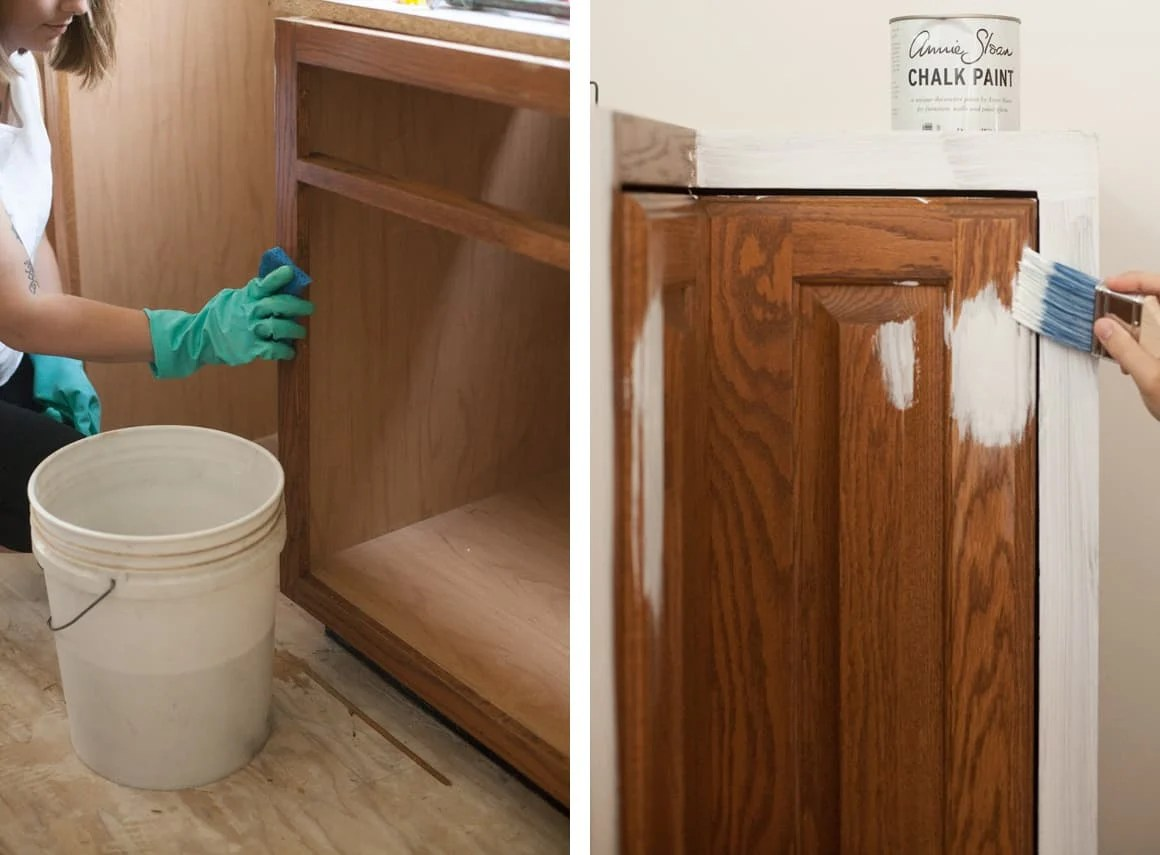 Painting Cabinets With Chalk Paint Pros Cons A Beautiful