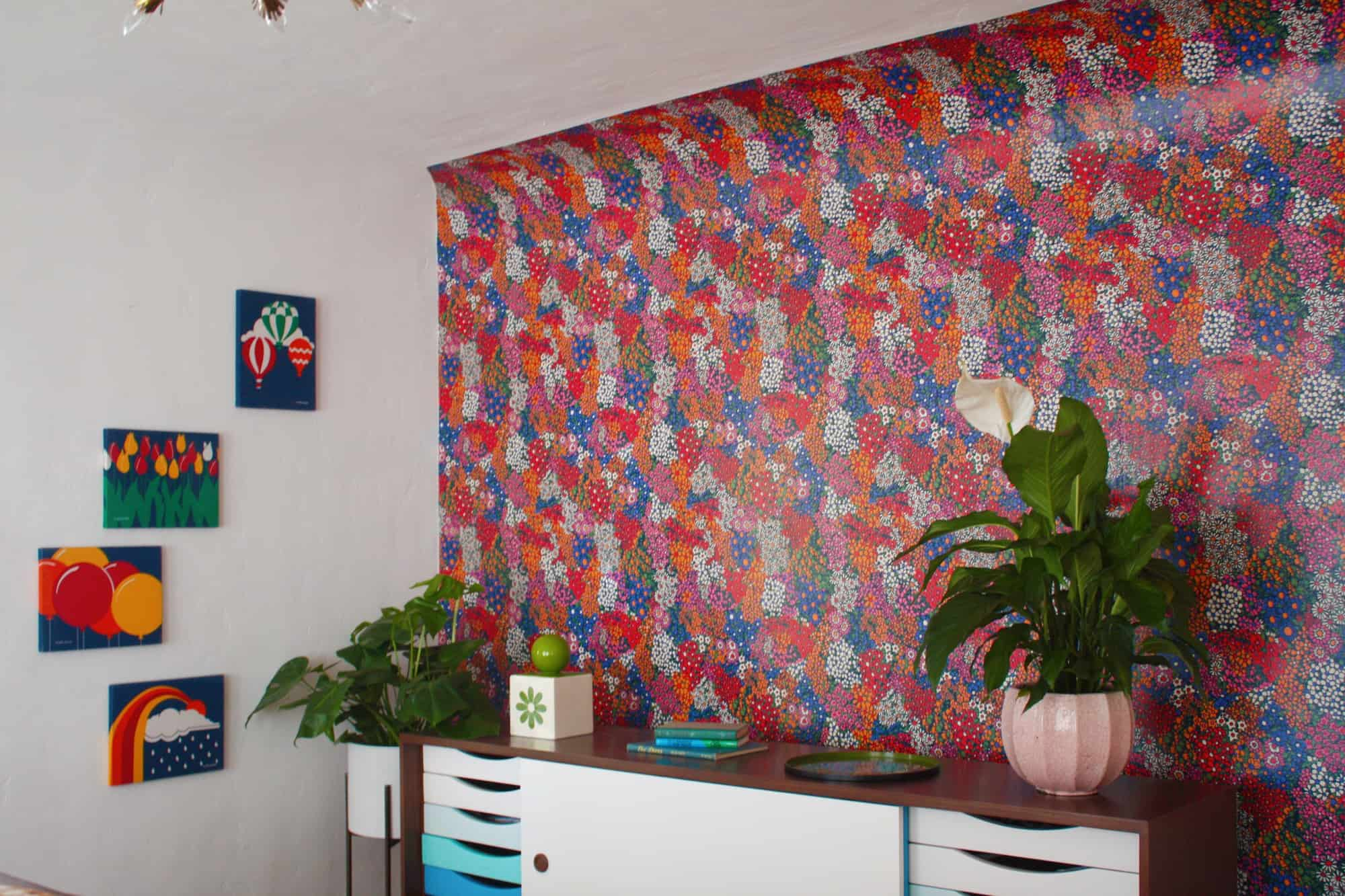 How To Design Custom Wallpaper From A Pattern You Love A Beautiful Mess