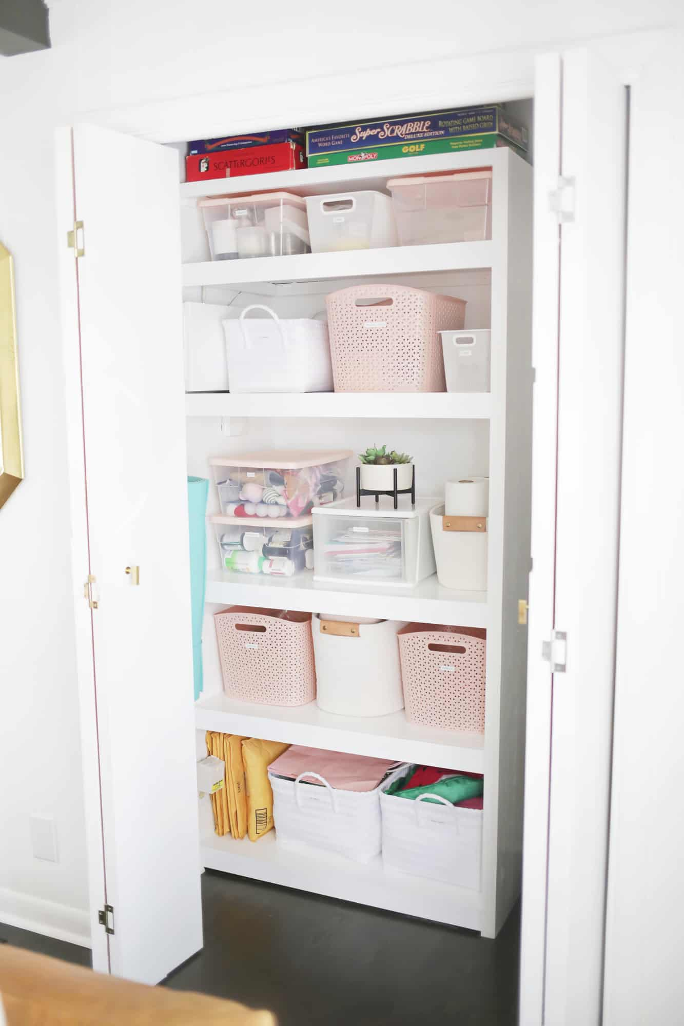 How I Organized My Hall Closet In One Afternoon A Beautiful Mess