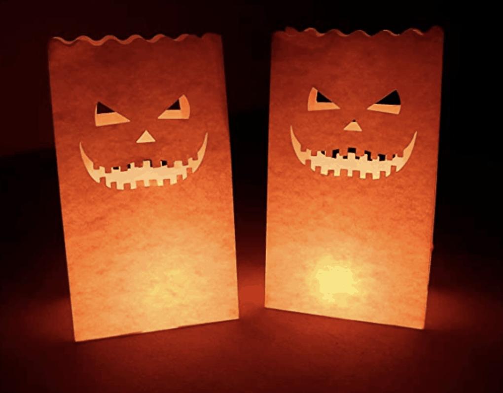 pumpkin luminaries