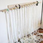 Make Your Own Macrame Curtain A Beautiful Mess