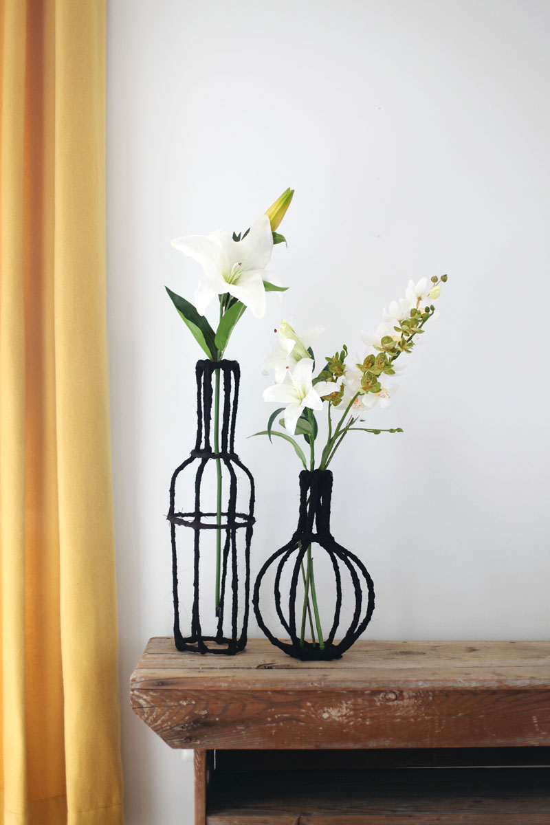 Decorative Wire Vase Diy A Beautiful Mess