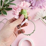 Flower Napkin Ring Diy A Beautiful Mess