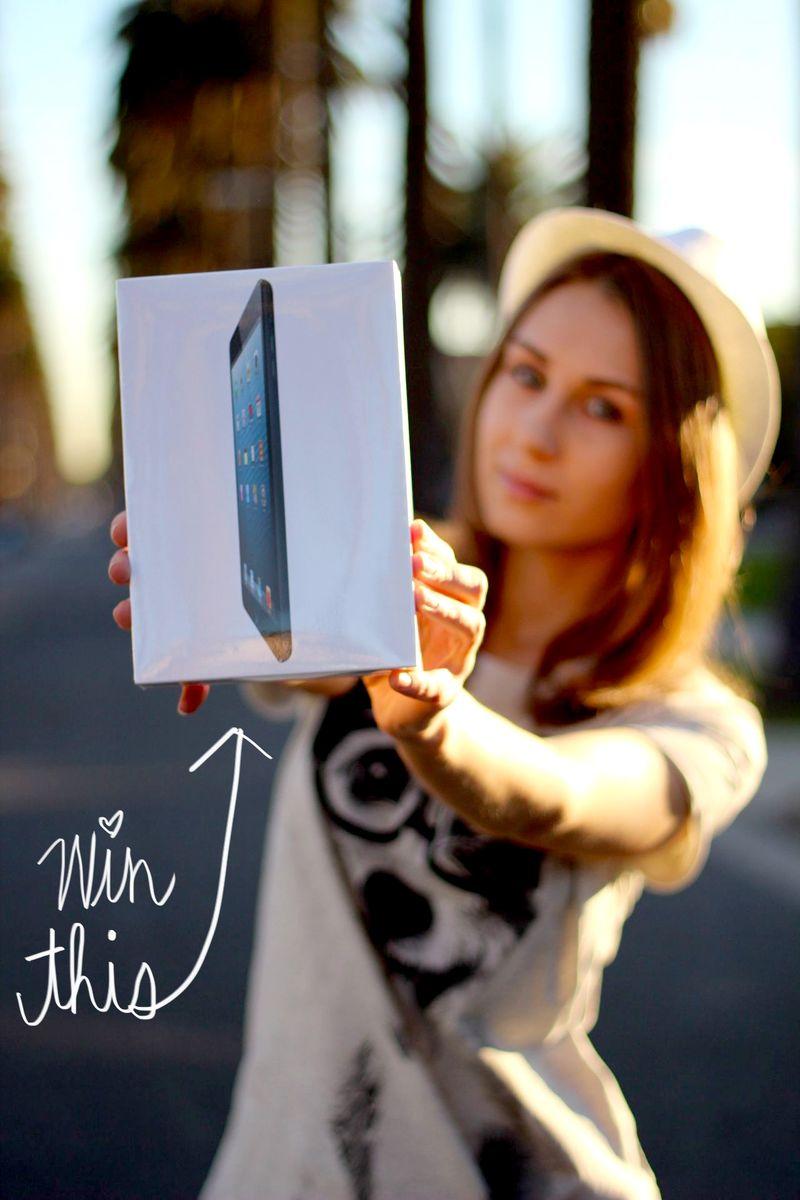 IPad Mini Giveaway With LA By Diana CLOSED A Beautiful