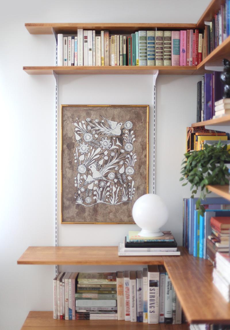 Built Corner Wall Shelf Ideas