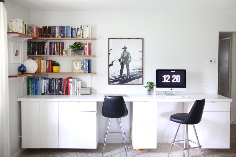 Make Your Own Custom Built-In Desk