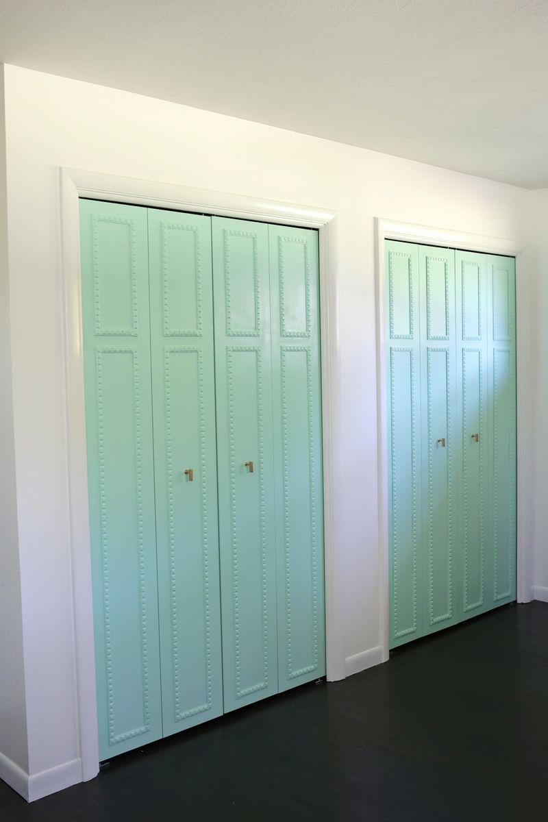 Customize Your Closet Doors With Trim A Beautiful Mess
