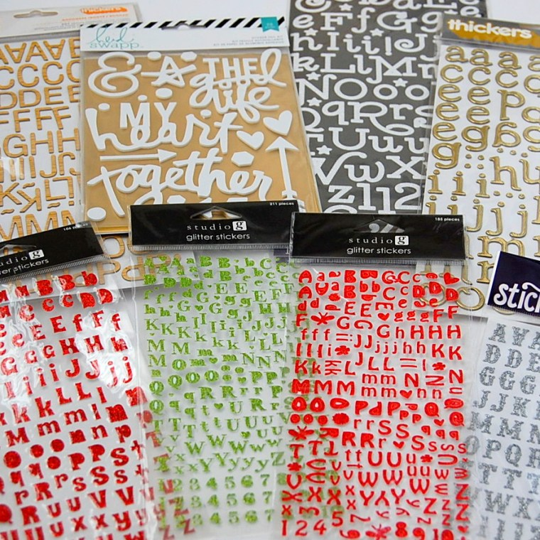 Thickers, Stickers and Foil