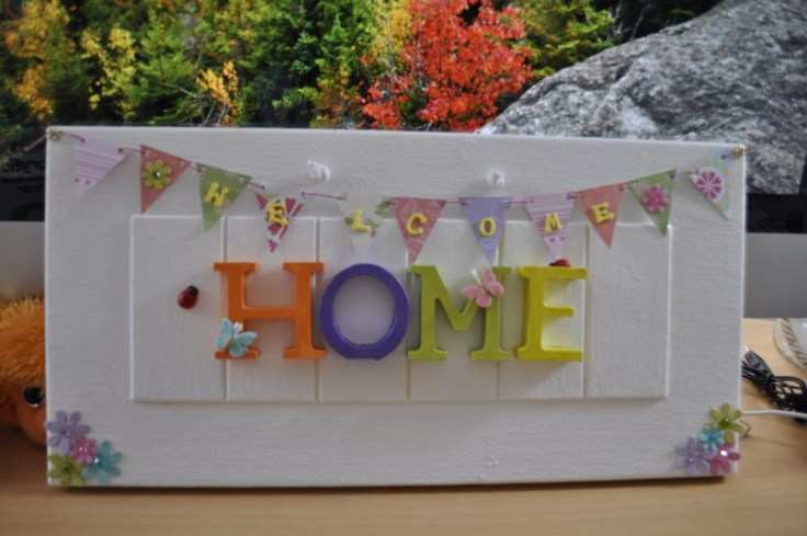 Home sign 5