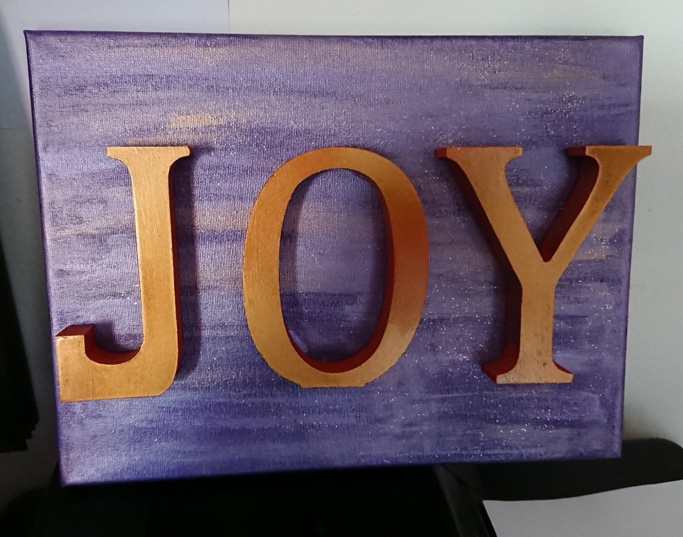 Word art: Joy