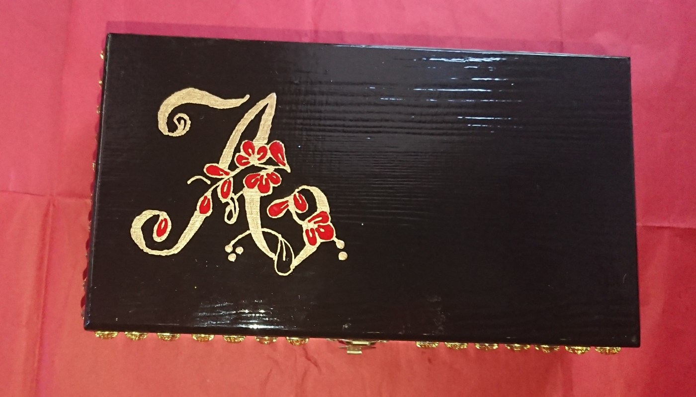 Alana's decorated box
